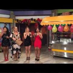 """Gabriela Pazmiño y Lila Flores junto con las """"Chicas Dulces"""" subastan show musical, animación y arroz con pollo.     Foto:Instagram En Contacto"""