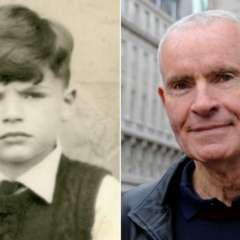 La foto muestra a Robin King cuando era niño (izq) y actualmente. (Foto: cortesía de Robin King)