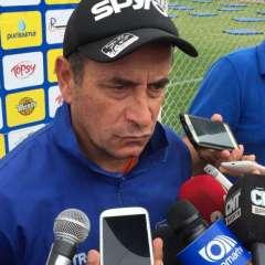 El uruguayo Guillermo Sanguinetti dijo que tendrán cuidado para evitar que Emelec les anote.