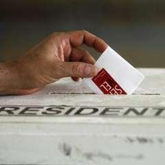 La jornada electoral se cumplió en medio de la incertidumbre por el resultado. Foto: AFP