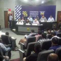 La sesión se instaló a las 14:30. Foto: Tomada de la cuenta Twitter @FEFecuador