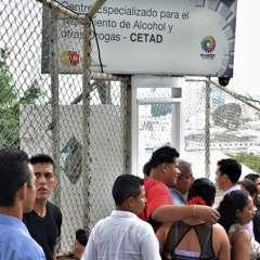 Autoridades del área social y drogas, anunciaron la creación de 2 nuevos centros para rehabilitación. Foto: Secretaría Técnica de Drogas
