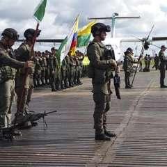 BOGOTÁ, Colombia.- En el helicóptero viajaban cuatro tripulantes -dos oficiales y dos suboficiales-, y seis ocupantes. Foto: Twitter Policía Colombia.