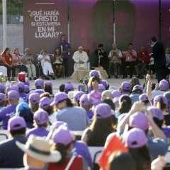 """Papa Francisco instó a los religiosos a tener """"la valentía de pedir perdón"""". Foto: AFP"""