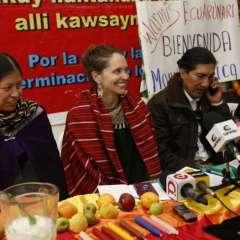 Manuela Picq seguirá con apelación para legalizar su matrimonio ancestral. Foto: API
