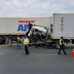 Autoridades investigan las causas del accidente. Foto: @ayudamehenry