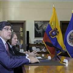 Gobierno ecuatoriano y el organismo firmaron un acuerdo, según la OEA. Foto: OEA