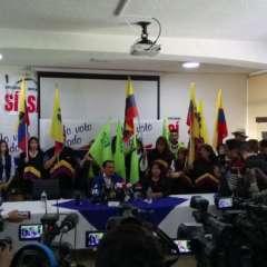 Zambrano denunció que no hubo un manejo prolijo de la institución y que adeudan al Estado y a proveedores. Foto: Twitter Alianza PAIS