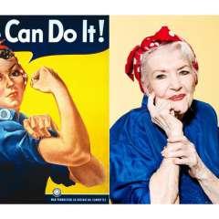 """""""¡Podemos hacerlo!"""", reza el cartel de propaganda de la guerra."""