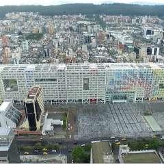 QUITO, Ecuador.- La construcción de esta obra, que duró aproximadamente 20 meses, estuvo a cargo del Servicio de Contratación de Obras (Secob) y su administración está en manos de Inmobiliar. Foto: Cortesía