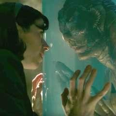 La cinta fantástica de Del Toro cuenta una historia de amor entre una limpiadora muda y una criatura anfibia. Foto: Referencial