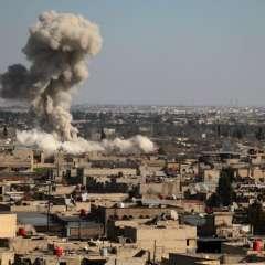 Se reportan unos 300 heridos durante ataques realizados por la fuerza aérea siria. Foto: AFP