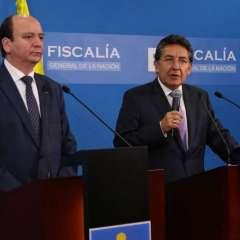 La cooperación bilateral en seguridad se refuerza tras atentado ocurrido en Esmeraldas. Foto: Tw Fiscalía.
