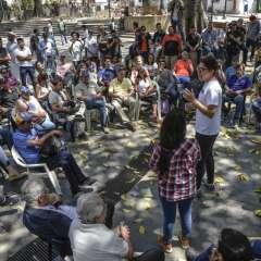 """Oposición venezolana realiza concentraciones exigiendo """"elecciones libres"""". Foto: AFP"""