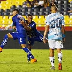 Con gol de Carlos Garcés, Delfín obtuvo su primera victoria en el campeonato nacional.