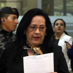 QUITO, Ecuador.- El cese temporal de funciones de Moreno se da tras presentación de quejas en su contra. Foto: API.