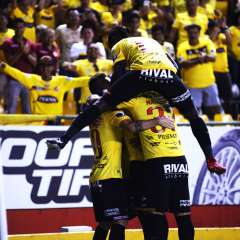 Los 'amarillos' están en el liderato del torneo con 13 puntos +7 puntos. Foto: API