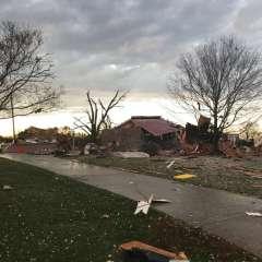 Las tormentas podrían representar una amenaza para más de 29 millones de personas en todo EEUU, Foto: AP