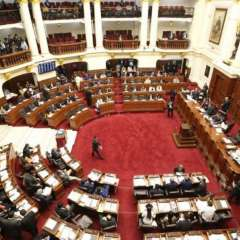 LIMA, Perú.- Congreso peruano debate la renuncia de Pedro Pablo Kuczynski. Foto: Tomado de Perú 21.com.