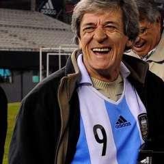 René 'Loco' Houseman fue figura del Huracán campeón en 1973 y ganador de la Copa del Mundo en Argentina 1978.