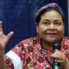 Rigoberta Menchú viene a Ecuador para participar del Foro 'Construyendo Ciudadanía Planetaria'.