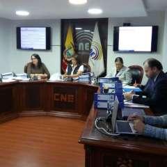 QUITO, Ecuador.- CNE aprobó el cronograma y el presupuesto de las elecciones seccionales del 2019. Foto: CNE.