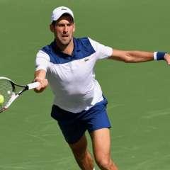 El serbio Novak Djokovic no pudo en su debut en el Masters 1000 de Miami.