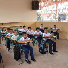 El inicio de clases en San Lorenzo y Eloy Alfaro será el 16 de abril. Foto: Archivo - Ecuavisa