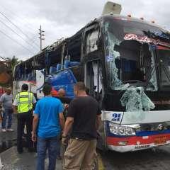 Doce muertos deja accidente en la vía Jipijapa en Manabí. Foto: Fiscalía Ecuador