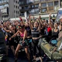 En su anterior administración, Piñera enfrentó las mayores manifestaciones estudiantiles en varias décadas. Foto: AFP