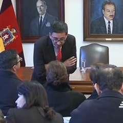 Familiares del equipo periodístico asesinado buscan apoyo de OEA. Foto: captura de video