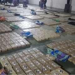 Los individuos habrían enviado la droga desde Ecuador por Galápagos y luego a Panamá. Foto: Fiscalía
