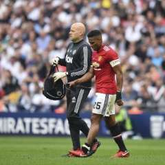 El ecuatoriano salió lesionado en la semifinal ante el Tottenham. Foto: Glyn KIRK / AFP