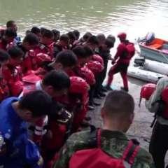 Al menos 11 muertos en un accidente de barco-dragones en China. Foto: Redes