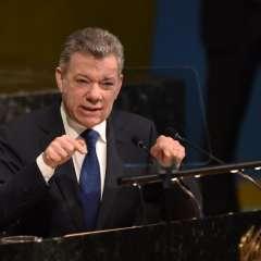 Mandatario habló en evento sobre el mantenimiento de la paz en la sede de la ONU. Foto: AFP