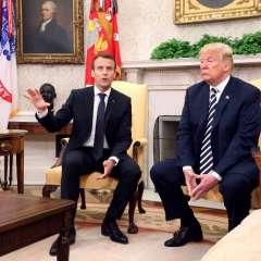 Francia pretende convencer a EE.UU. de permanecer en el acuerdo. Foto: AFP