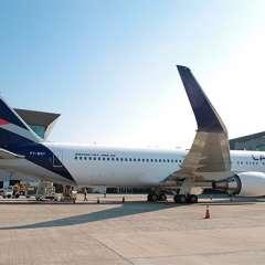 Casi 2.000 vuelos reprogramados en extensa huelga de LATAM en Chile. Foto: Latam Chile