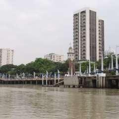 El río Guayas es uno de los atractivos más imponentes de Guayaquil.