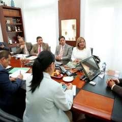 Encuentro de los alcaldes con el presidente. - Foto: Presidencia vía Twitter