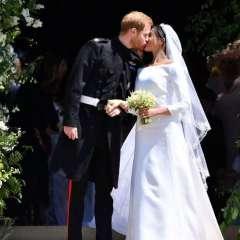 El príncipe Harry y Meghan Markle ya son marido y mujer.
