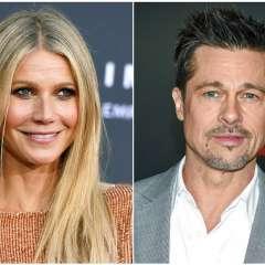 Gwyneth Paltrow y Brad Pitt fueron pareja en los 90's. Foto: AP.