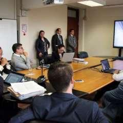 Correa compareció en el Consulado de Bélgica, ubicado en Avenue Louise 363, 1050 Bruxelles, piso 9. Foto: Fiscalía