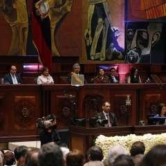 Oficialismo destaca mensaje contra corrupción; oposición cree que faltó profundidad. Foto: API