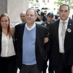 Harvey Weinstein acusado en Nueva York por violación y agresión sexual. Foto: AFP