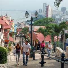 Llegada de turistas internacionales aumenta en Ecuador. Foto: Referencial
