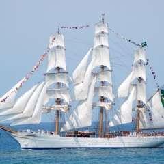 1.800 tripulantes de las Armadas de distintos países visitan puertos latinoamericanos. Foto: Referencial