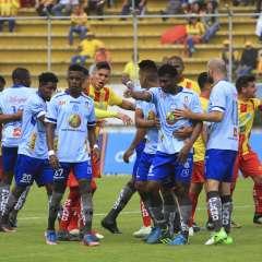 El elenco ambateño venció por 1-0 al Aucas en condición de visitante. Foto: API