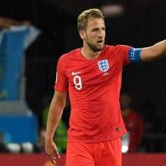 El delantero marcó los dos goles del elenco europeo. Foto: MARK RALSTON / AFP