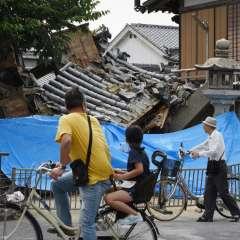 Se registran 214 heridos en las regiones de Osaka, Hyogo y Kioto. Foto: AFP