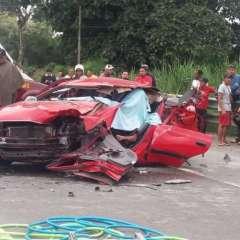 ECUADOR.- El deceso de José Mendoza se produce tras la colisión de un auto con una plataforma. Foto: Twitter